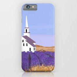 Lavender Churchyard iPhone Case