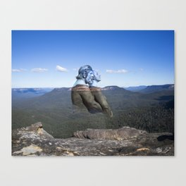 Darug Lovers The Blue Mountains Canvas Print