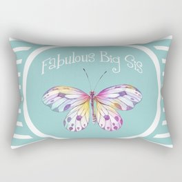Fabulous Big Sister Gifts Rectangular Pillow