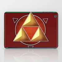 triforce iPad Cases featuring Triforce by lythy