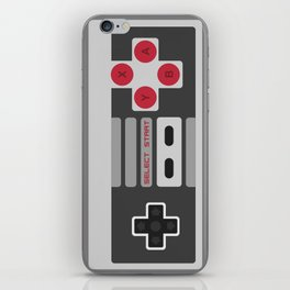 Retro Video Game Pattern iPhone Skin