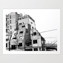 Ueno Art Print