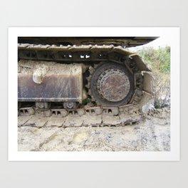 Digger Art Print