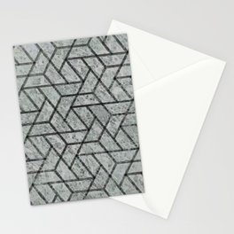 Contemporary blur textured geometry Stationery Cards