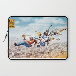 You're Hired by Mel Zahar Laptop Sleeve