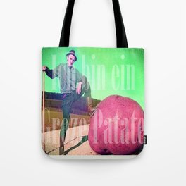 Groze patate Tote Bag