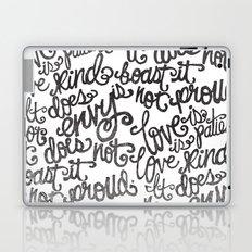 LOVE IS PATIENT... Laptop & iPad Skin