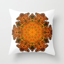 Filigree v1 Throw Pillow