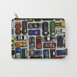 Toy cars pattern Carry-All Pouch