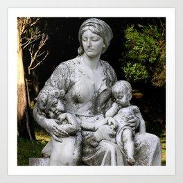 beauty in stone Art Print
