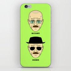 Walter White or Heisenberg? iPhone & iPod Skin