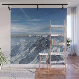 Winter Court Wall Mural