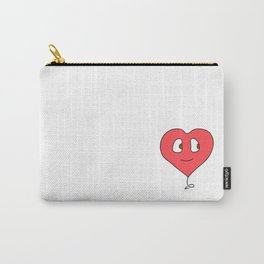 Heartface Carry-All Pouch