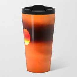 Fire Sunset Travel Mug