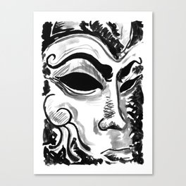 Dream of the Mask Canvas Print