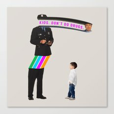 Kids. Don't Do Drugs Canvas Print