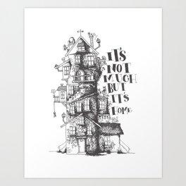 a humble residence Art Print