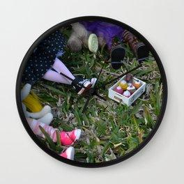 Blythe - A cool sunset - cake Wall Clock