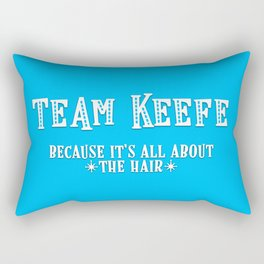 Team Keefe Rectangular Pillow