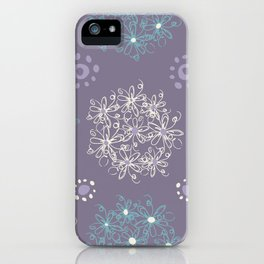 Lilac Clusters iPhone Case