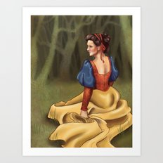Snow White 2 Art Print
