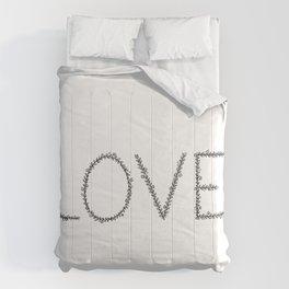 Love Botanical Design Comforters