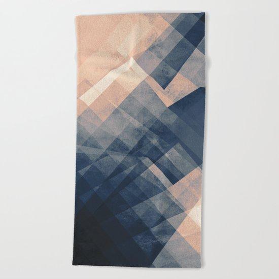 Convergence Beach Towel