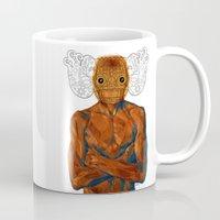 demon Mugs featuring Demon by Rofi