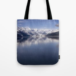 Collage Fjord Tote Bag