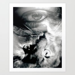 Cats Eye Art Print