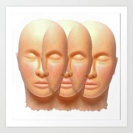 3 is the Magic # Art Print