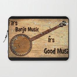 Banjo Music Laptop Sleeve