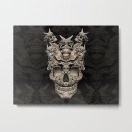 Fantasy skull Metal Print