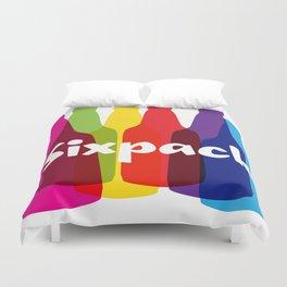 Sixpack Duvet Cover