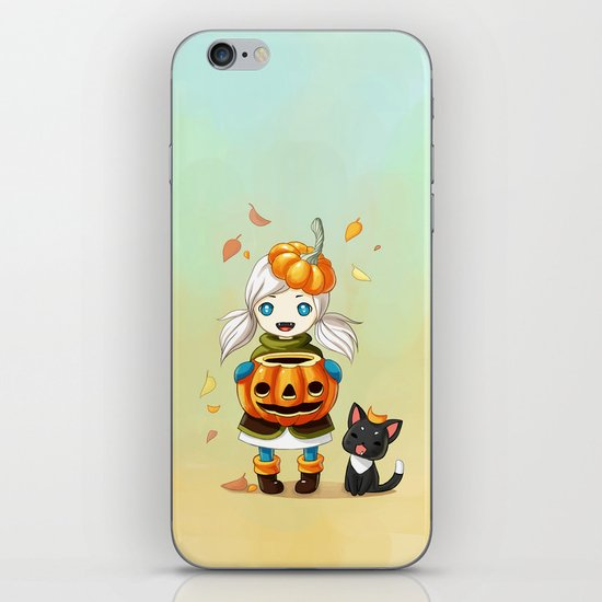 Pumpkin 2 iPhone & iPod Skin