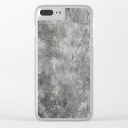 tree trunk texturized for background and texture Clear iPhone Case