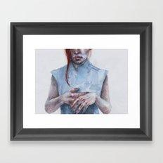 giving away my hands Framed Art Print
