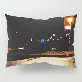 Dark Street Pillow Sham
