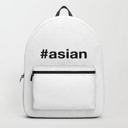 ASIAN Hashtag Backpack