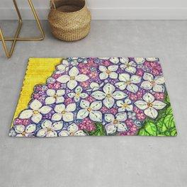 Lilacs for Sally Rug