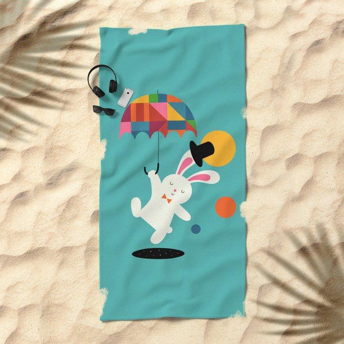 On the way to wonderland Beach Towel