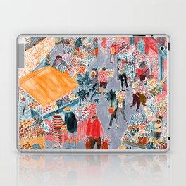 Columbia Road Flower Market Laptop & iPad Skin