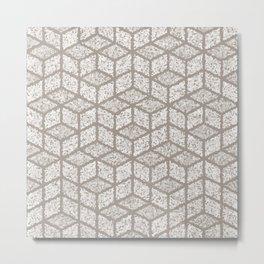 Kenna (Light Grey) Metal Print