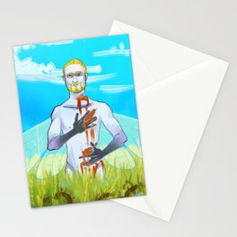 Dead Once Upon A Time Stationery Cards