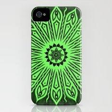 ozorahmi glow mandala Slim Case iPhone (4, 4s)