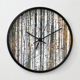 Aspensary forests Wall Clock