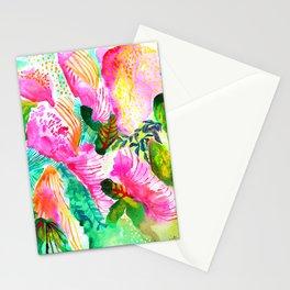 California Garden, Bright Light Stationery Cards