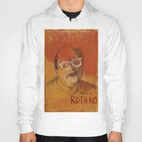 rothko Hoodies featuring 50 Artists: Mark Rothko by Chad Beroth