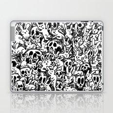 Bunnies & Skulls Laptop & iPad Skin
