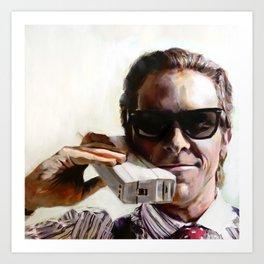 Patrick Bateman - American Psycho Art Print
